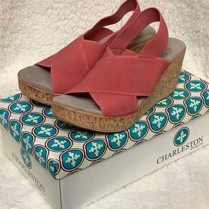 Charlston Shoes MED coral sandal